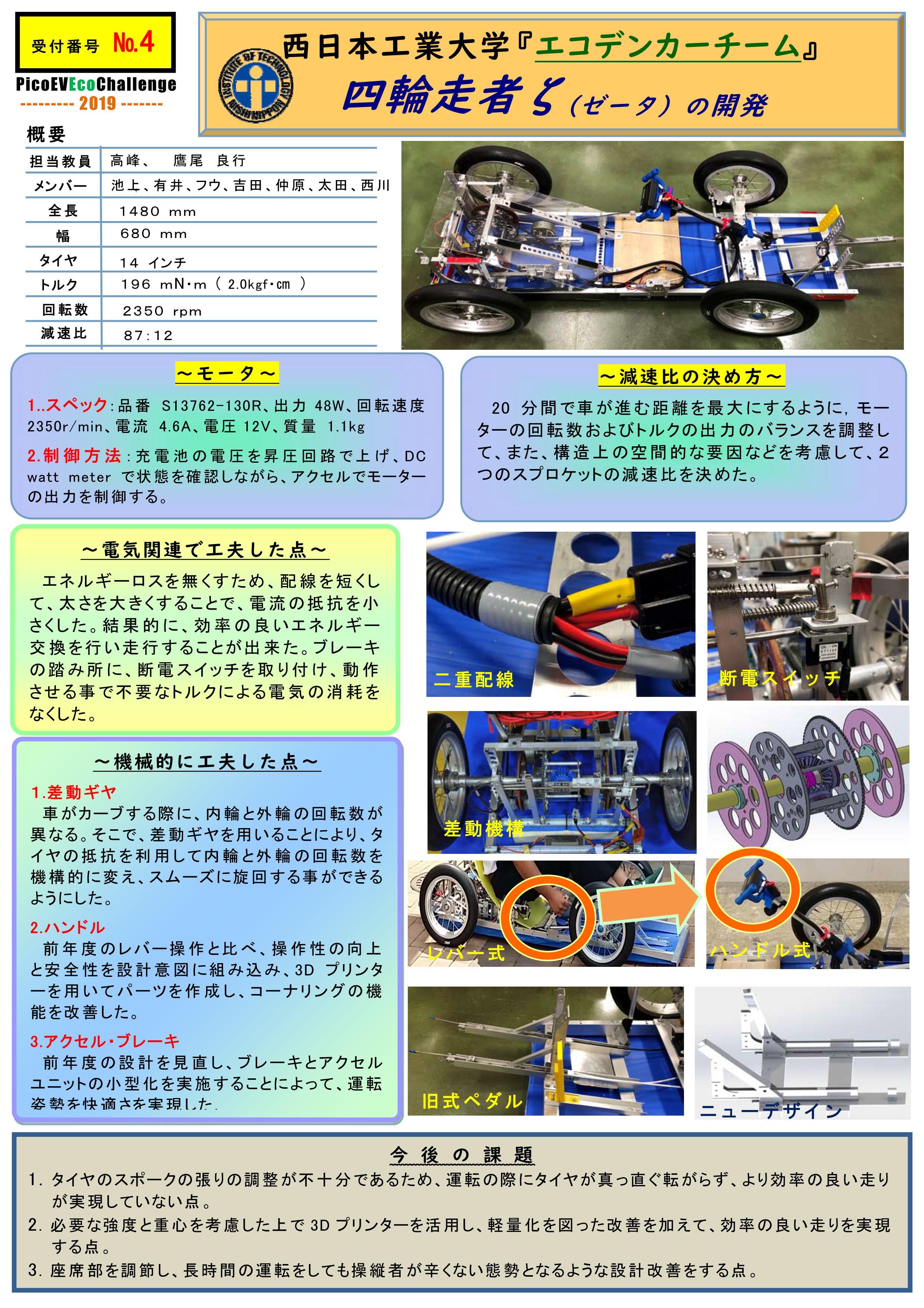 3_エコ電動車技術講演会2019_西日本工業大学_ソーラーカーチーム(エコデン)